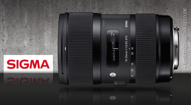 """Đưa lens Sigma 18-35mm f/1.8 DC HSM lên """"bàn cân"""""""