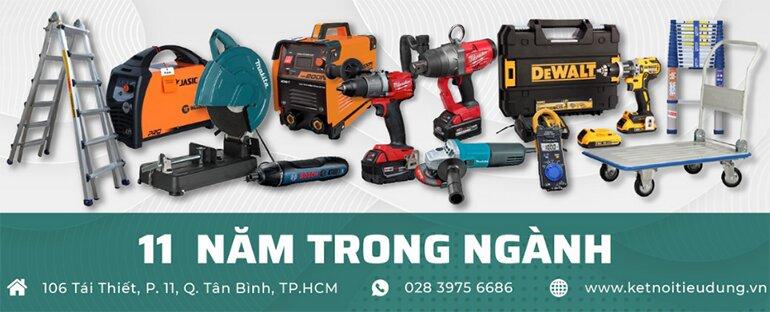 Kết Nối Tiêu Dùng tự hào là nhà phân phối máy khoan pin chính hãng uy tín hàng đầu Việt Nam