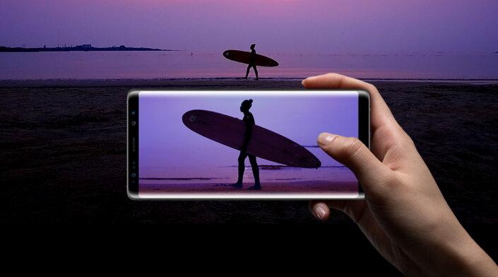 Dùng Samsung Galaxy Note 8 mà không biết mẹo sử dụng camera dưới đây thì hơi phí