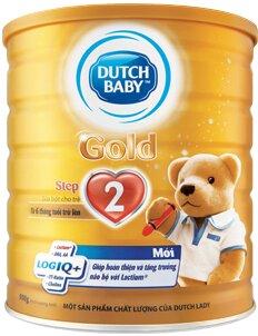 Dutch Lady Gold Step 2 – Phát triển trí não toàn diện cho bé