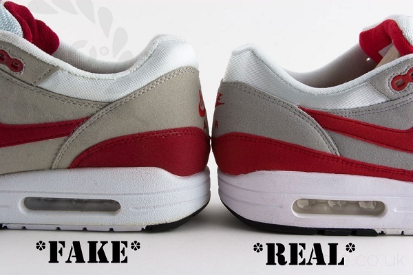 Sự khác biệt giữa giày chính hãng và hàng fake