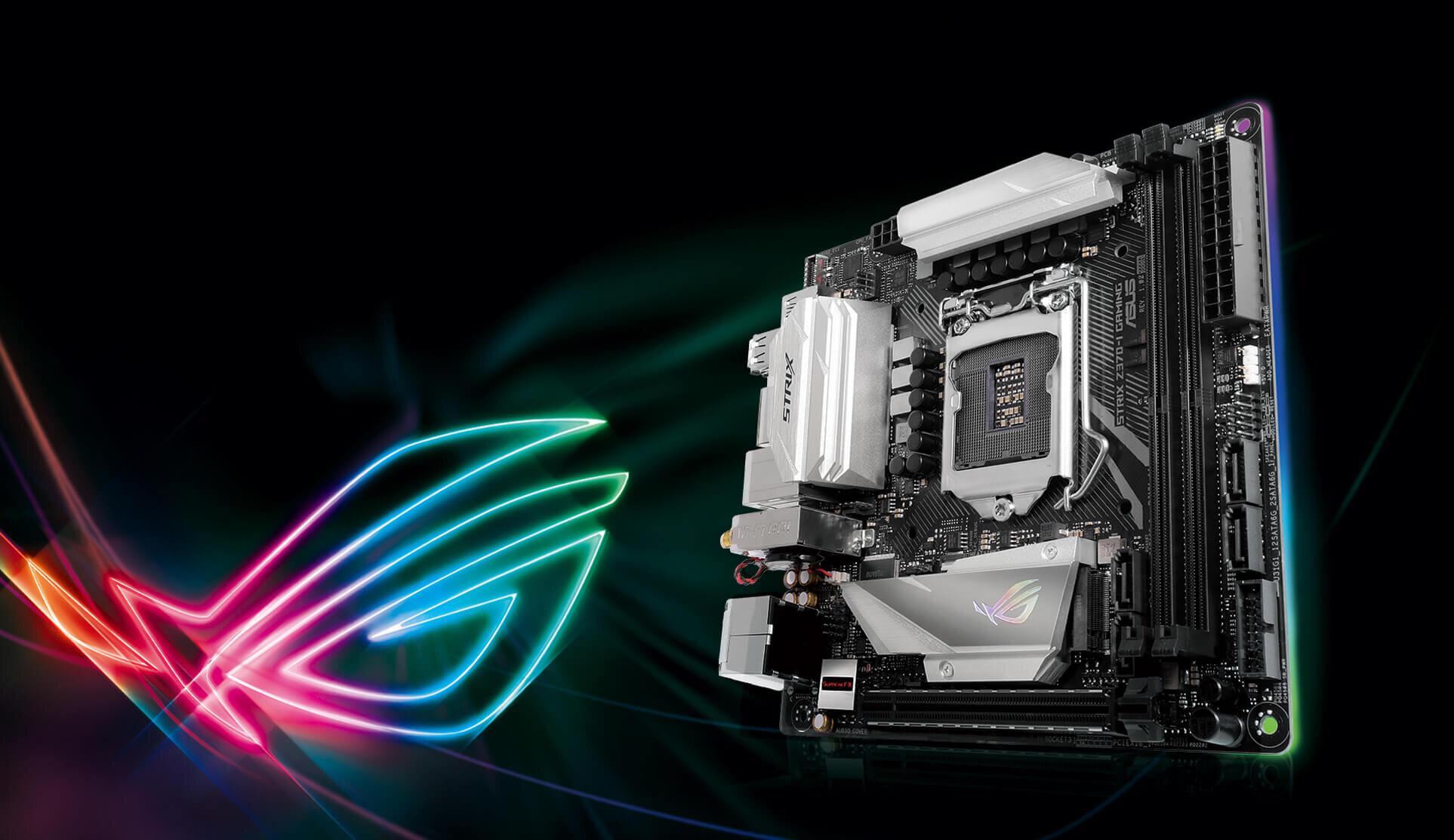 Bo mạch ASUS ROG STRIX Z370-i GAMING giá rẻ