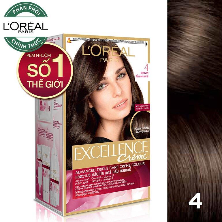 Thuốc nhuộm tóc Loreal xuất xứ Pháp