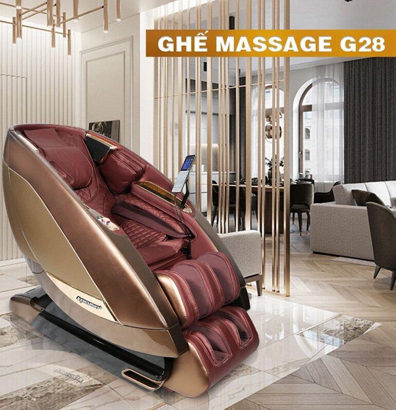 Ghế massage toàn thân Kingsport G28