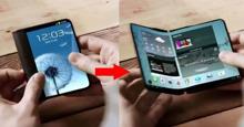 Samsung Galaxy X có thể gập – giá bao nhiêu tiền? Khi nào ra mắt?