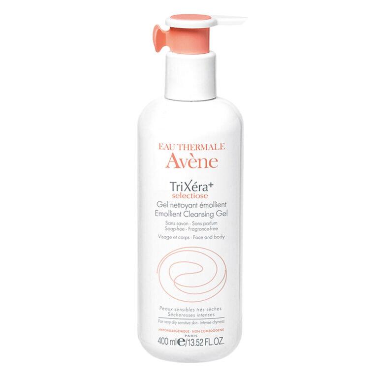 Sữa rửa mặt Avene Trixera+ Selectiose Emollient Cleansing Gel