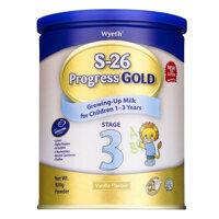Sữa bột S-26 Progress Gold 3 - hộp 900g (dành cho trẻ từ 1 - 3 tuổi)