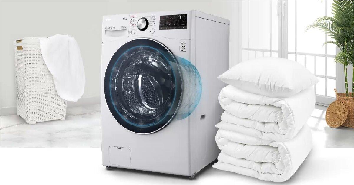 10 lý do bạn nên chọn mua máy giặt LG AI DD 15kg cho tiệm giặt là mini của mình