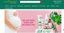 Earthmama.vn chuyên cung cấp sản phẩm hữu cơ cho mẹ và bé