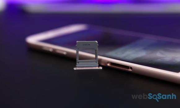 cạnh trái điện thoại Galaxy A7 (2017)