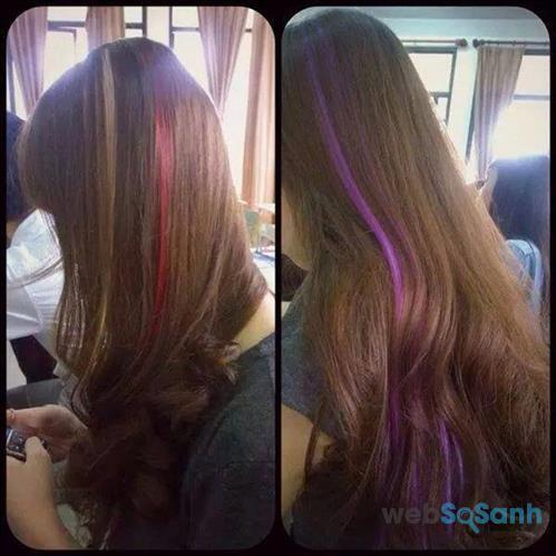 Nhuộm tóc highlight từ nguyên liệu tự nhiên