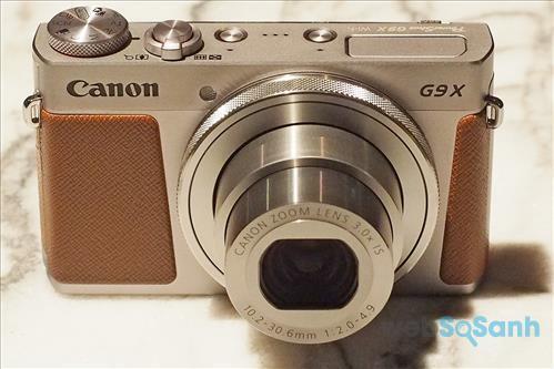 Máy ảnh Canon G9 X có giá rẻ hơn chút
