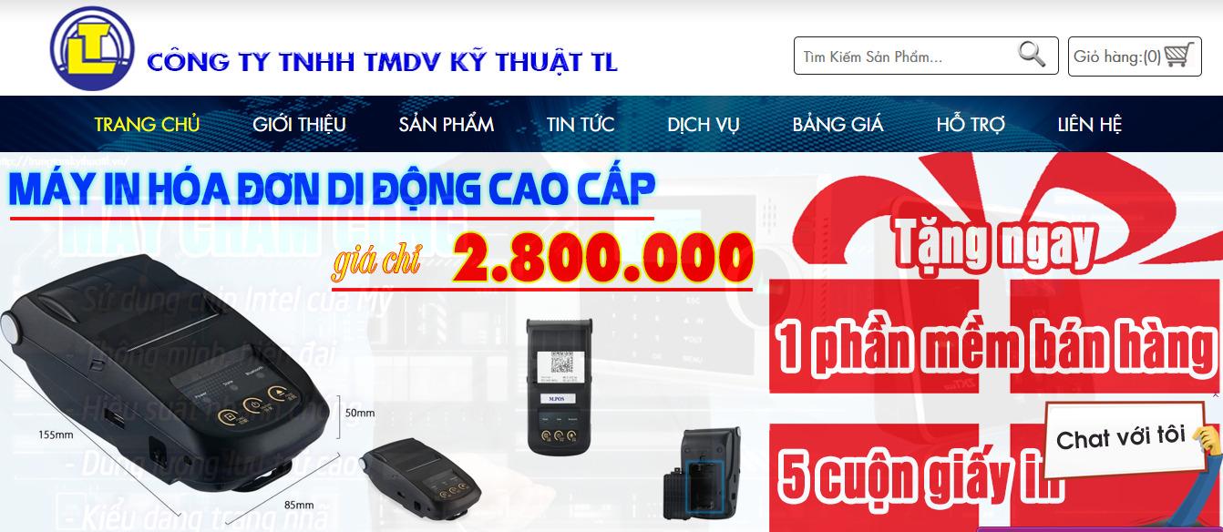 thiết bị siêu thị tại trungtamkythuattl.vn