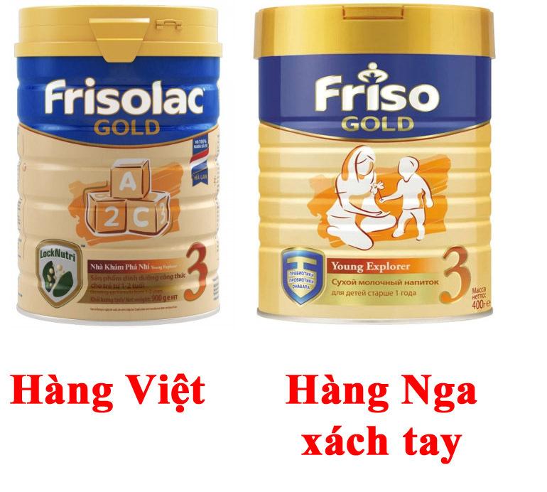 Nguồn gốc xuất xứ sữa Friso Gold 3 trên thị trường Việt Nam