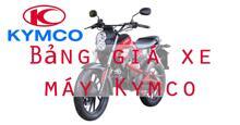 Bảng giá xe máy Kymco cập nhật thị trường tháng 1/2018