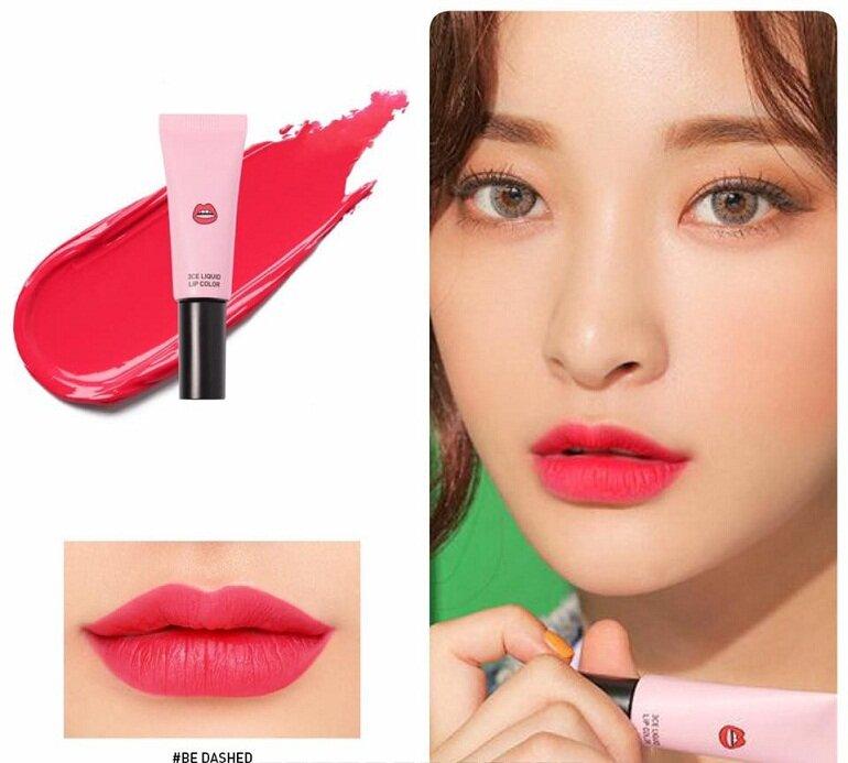 Son môi 3CE chính hãng Liquid Lip Color - Giá tham khảo khoảng 280.000 vnđ - 360.000 vnđ/tuýp 8g