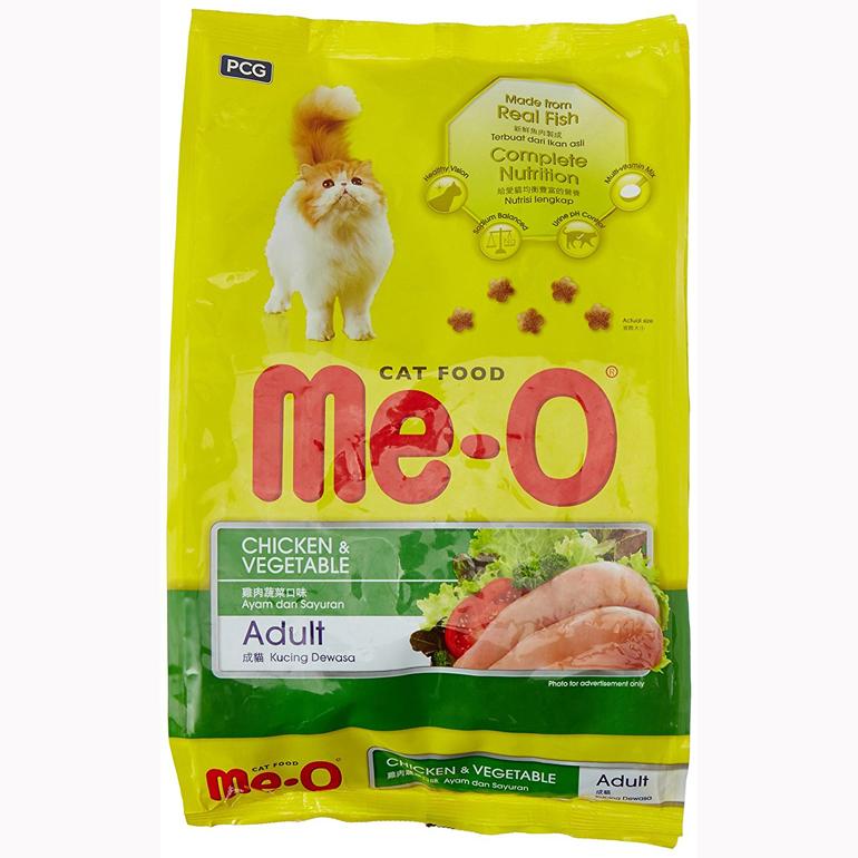 thức ăn khô Me-O cho mèo trưởng thành