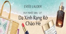 """Estee Lauder sale lớn trong ngày hội """"Da Xinh rạng rỡ chào hè"""" trên Lazada - Lương về"""
