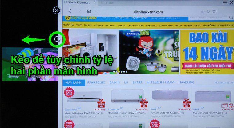 cách mở nhiều ứng dụng trên smart tivi samsung
