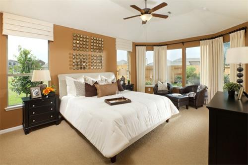 quạt trần phòng ngủ đẹp