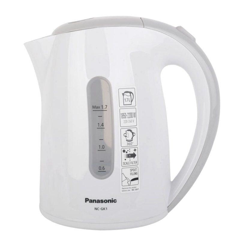 Ấm siêu tốc của Panasonic được làm từ chất liệu nhựa cao cấp và an toàn cho sức khỏe