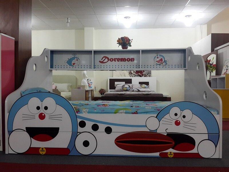 Giường tầng trẻ em lùn được thiết kế tiết kiệm không gian tối ưu nhất