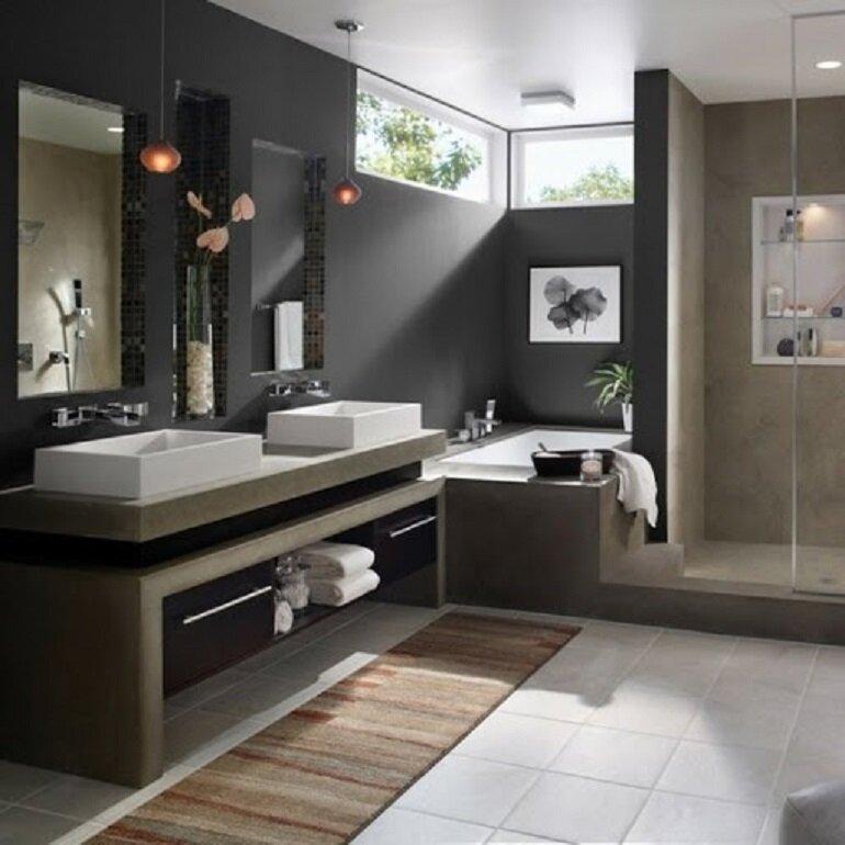 lựa chọn nội thất nhà tắm tốt