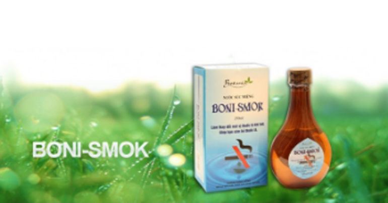 Boni-smok 150ml có tốt không ? Bán ở đâu ? Giá bao nhiêu ?