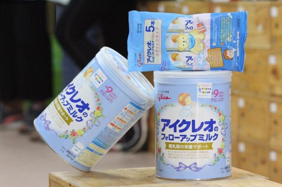 Sữa Glico có hương vị tự nhiên, gần giống sữa mẹ, trẻ rất dễ uống