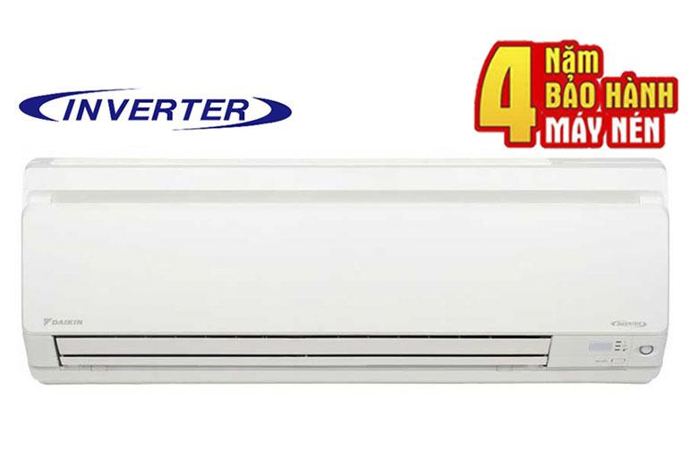 Điều hòa - Máy lạnh Daikin FTKC25NVMV 1 chiều 9000 BTU Inverter thiết kế đơn giản, tinh tế, vận hành êm ái cùng với đó là chế độ bảo hành dài hạn giúp người tiêu dùng yên tâm hơn khi sử dụng
