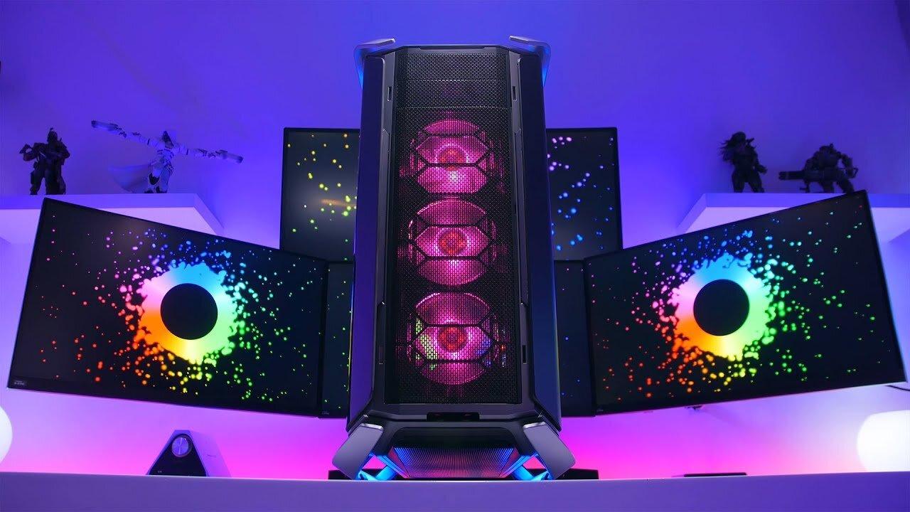 Các bộ phận của Cooler Master COSMOS C700P RGB có thể tháo rời rất tiện lợi