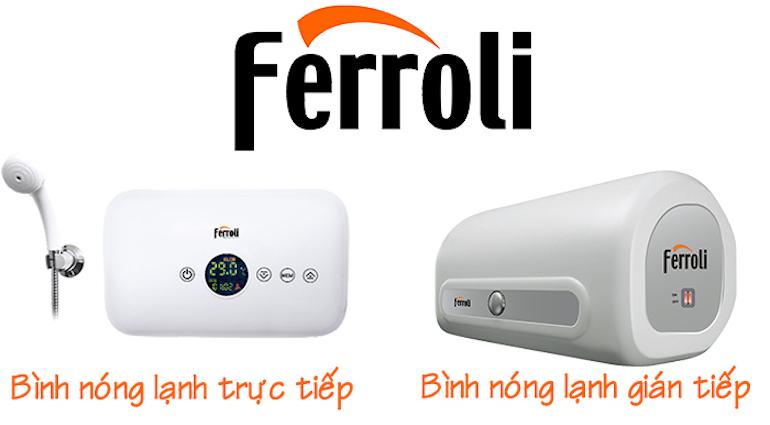 Ưu điểm của bình nóng lạnh Ferroli