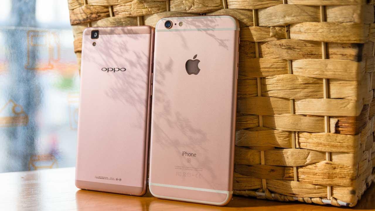 Oppo F7 có tốt hơn iPhone 6S Plus không?