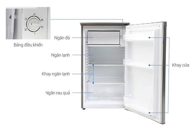 Tủ lạnh mini Beko 90 lít RS9050P