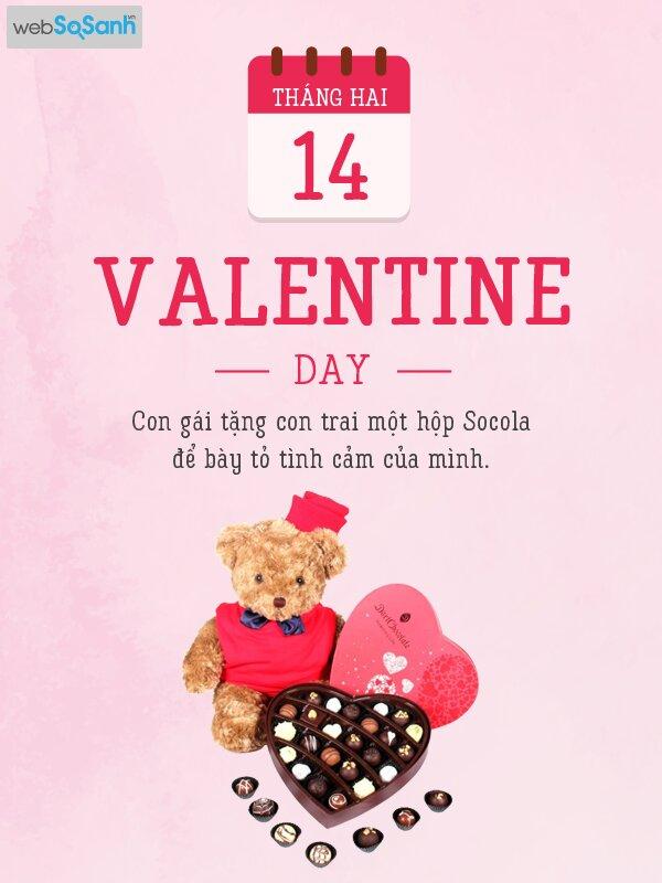 """FA bơi hết vào đây: bọn có gấu sẽ ghen tị vì có tới 11 ngày Valentine trong năm cho dân """"ế"""""""