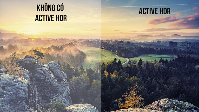 Khám phá công nghệ Active HDR được trang bị trên tịvi OLED LG