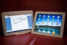 So sánh cấu hình Samsung Galaxy Note 10.1 và Apple iPad Air