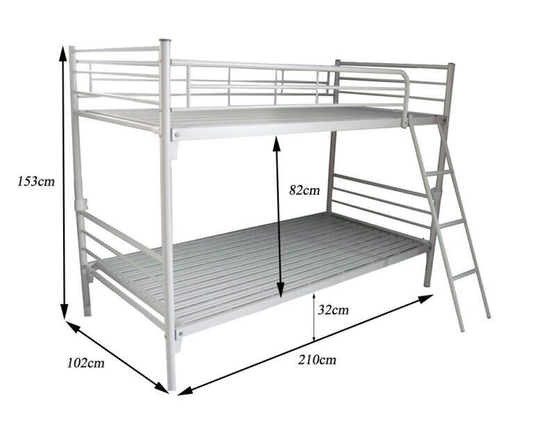 Phân loại giường 2 tầng trẻ em theo kích thước