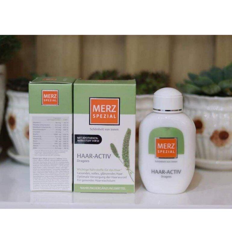 Cách sử dụng thuốc mọc tóc Merz