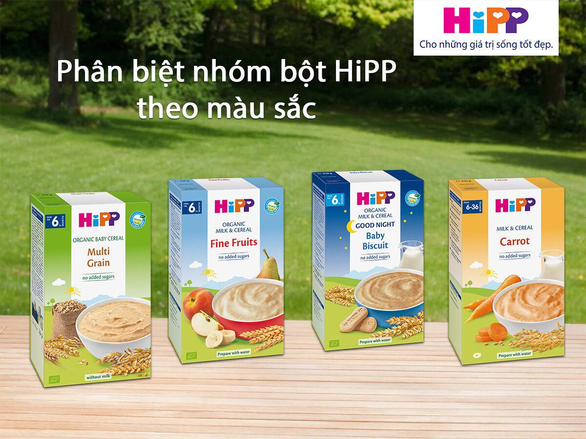 Bột ăn dặm Hipp thương hiệu uy tín đến từ Đức
