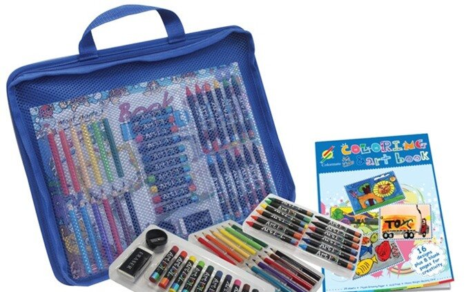 Bộ màu vẽ Colormate dành cho bé trai