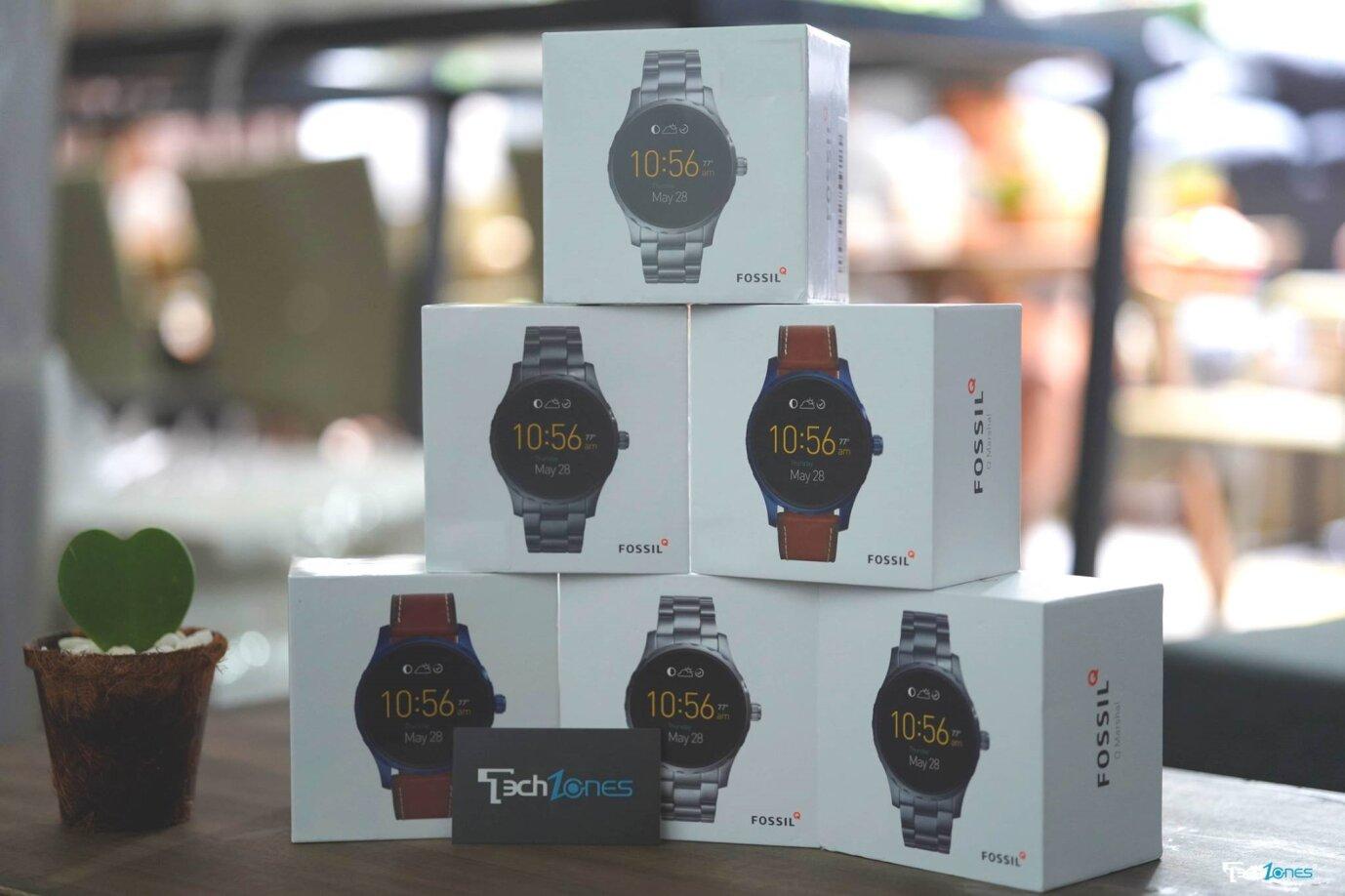 Fossil Q Marshall – mẫu đồng hồ thông minh cao cấp siêu bền bỉ cho nam giới