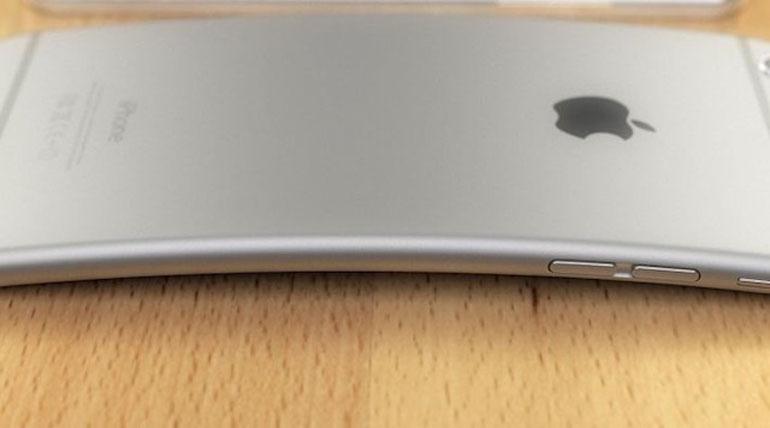 Điện thoại iPhone bị cong vênh