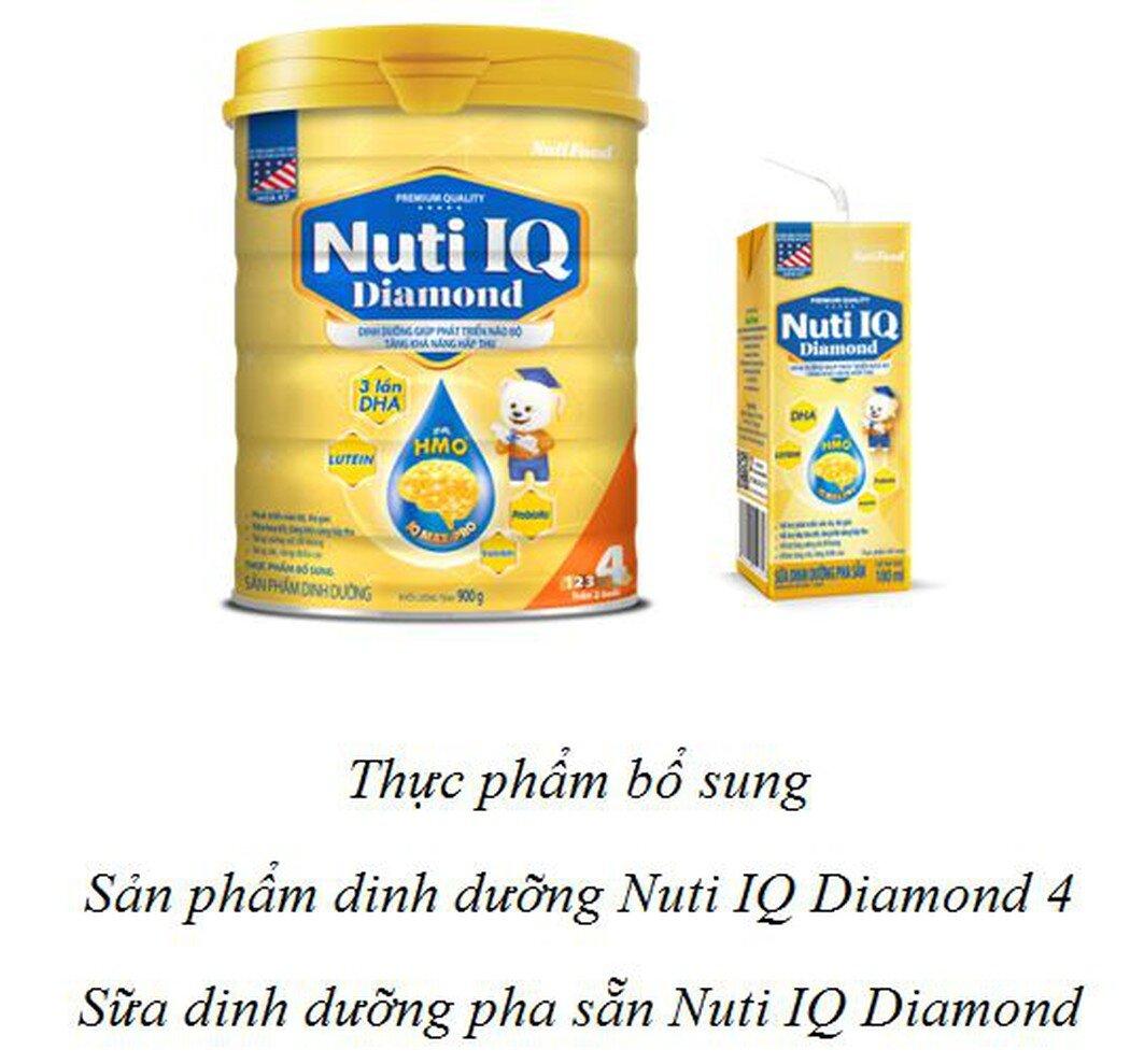Sữa Nuti IQ Diamond có tốt không và phù hợp với trẻ bao nhiêu tuổi?