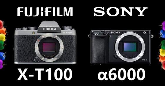 Fujifilm X-T100 vs Sony A6000: Nên mua máy ảnh nào?