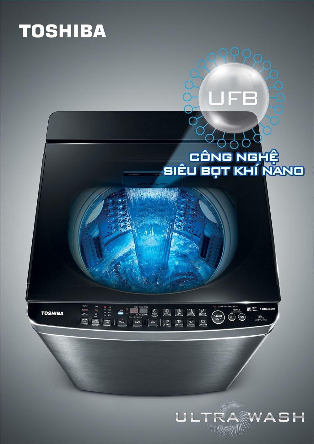 Một số dòng máy giặt của Electrolux khá kén bột giặt