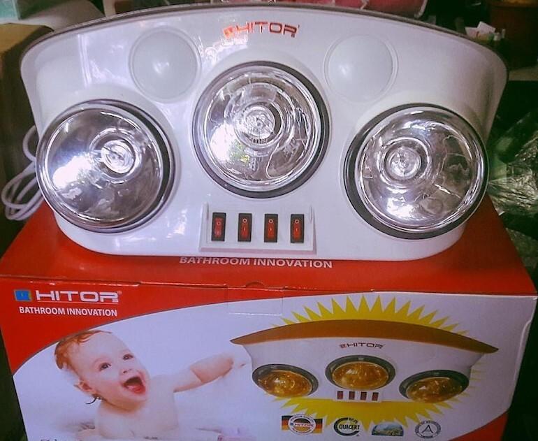 Mức độ an toàn của đèn sưởi Hitor.