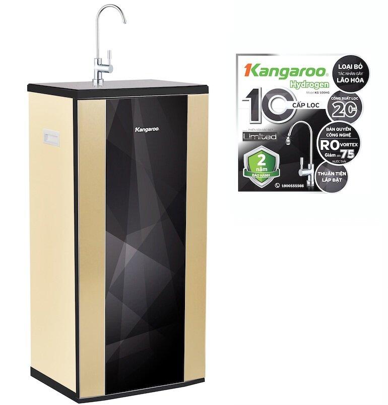 Đánh giá chi tiết máy lọc nước Kangaroo