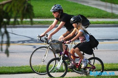 Xe đạp thông thường phù hợp với mọi đối tượng và địa hình đi xe