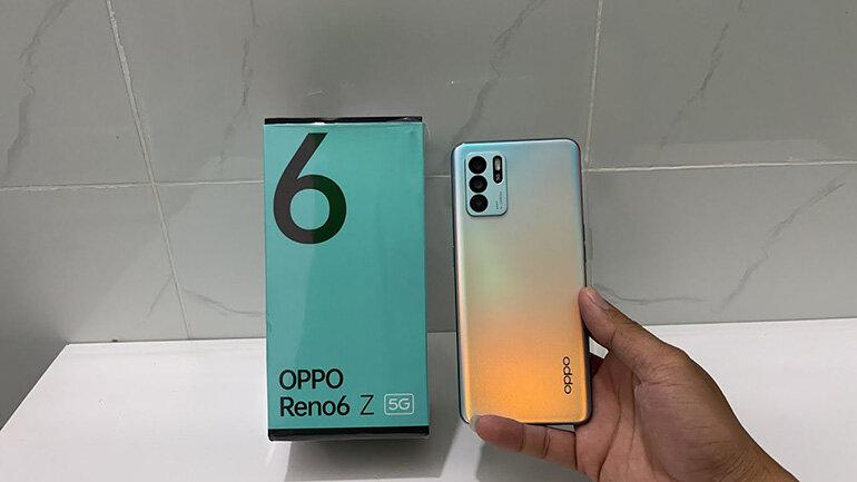 đánh giá oppo reno6 z 5g
